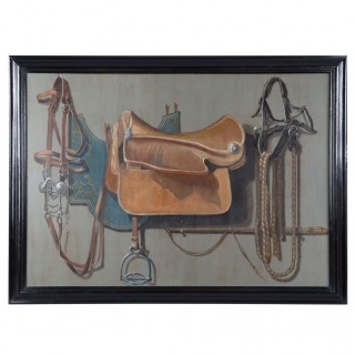 A Saddle Trompe l'oeil