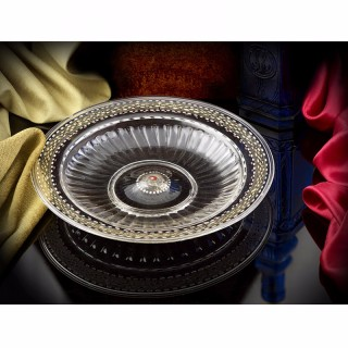 A Very Rare Venetian low footed Glass Bowl