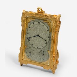 A strut clock by Vasel