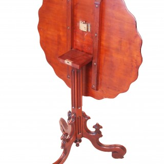 Antique 19th Century Mahogany Tripod Table