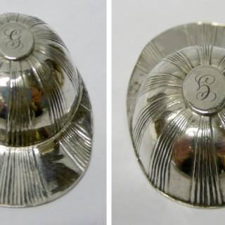 Antique Silver Jockey Cap Caddy Spoon