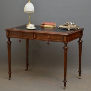 French Rosewood Writing Table / Side Table