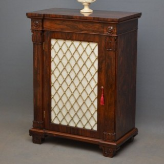 Striking William IV Rosewood Cabinet