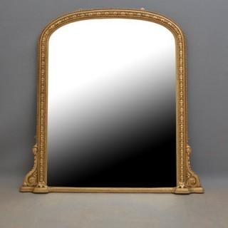 Victorian Giltwood Wall Mirror - Gilt Mirror