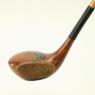 Antique Hickory Golf Club, Walter Hagen, Driver.