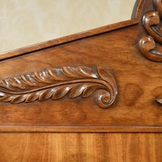 A Fine & Rare mahogany Regency Period