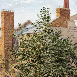 THOMAS MATTHEWS ROOKE (1842-1942) - MARGARETTA TERRACE, FROM NO.16