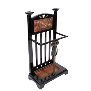 Art Nouveau Iron Stick Stand
