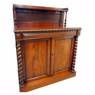 Early Victorian 2 Door Chiffonier
