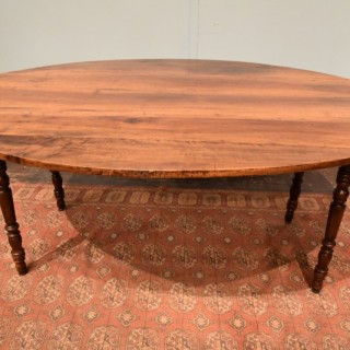 Large French Walnut Table