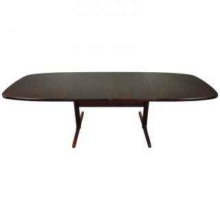 Danish Mid-Century Rosewood Dining Table