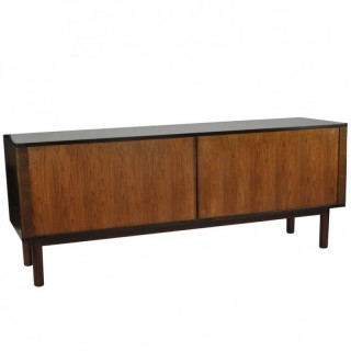 1970s Danish Rosewood and Teak Sideboard