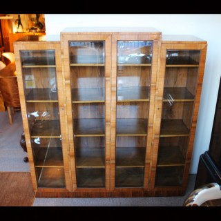 Art Deco Bookcase Cabinet