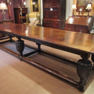 Fabulous George I Large Oak Refectory Table