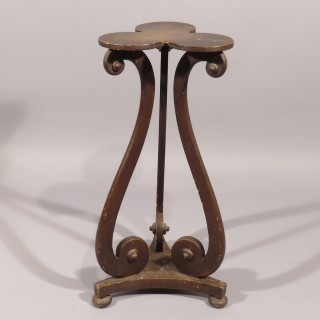 A Regency Period Painted Torchere Stand
