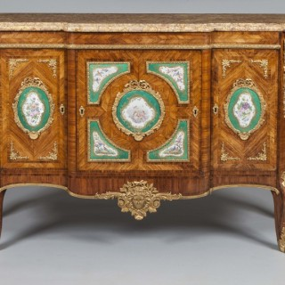 Rare Pair of Commodes in the French Transitional Manner By Town and Emanuel of London