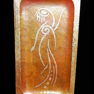CLAUDIUS LINOSSIER- Art Deco Period Work Dish