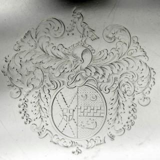 Queen Anne Irish Silver Octofoil Salver