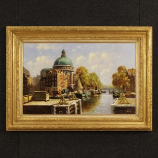20th Century Painting  Oil On Canvas