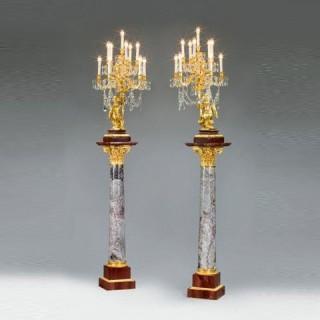 Napoleon III gilt Candelabra