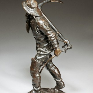 Bronze of a seaman