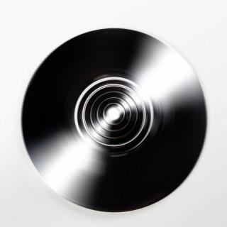 An Art Deco dish light