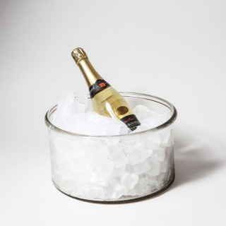 A large scale Voneche glass ice bucket