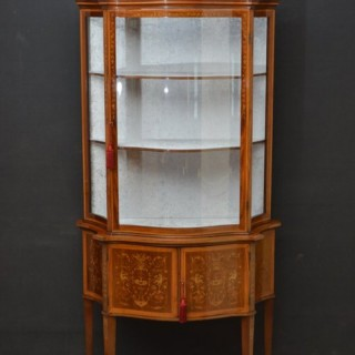 Striking Edwards & Roberts Display Cabinet