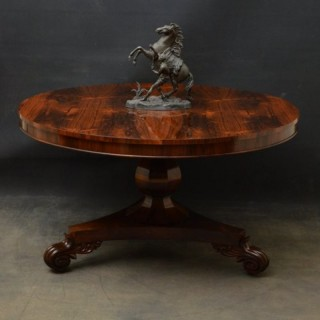 William IV Rosewood Dining Table - Centre Table