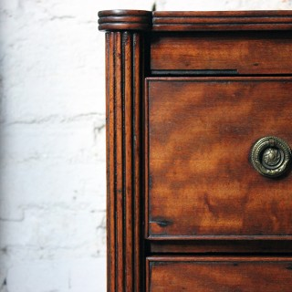 A Very Handsome Late Regency Period Mahogany Chest of Drawers c.1820-25