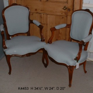 Pair of Fauteuils