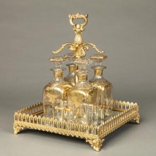 Ormolu Drinks Set of the Napoleon III Period