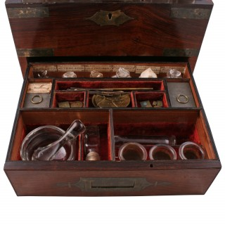 George IV Campaign Apothecary Box