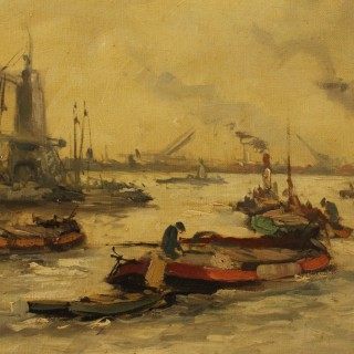 20th Century Acrylic Painting