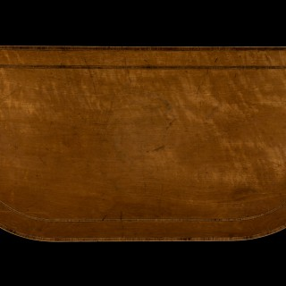 George III Sheraton Period 18th Century Satinwood Inlaid Card Table