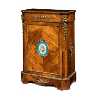 Kingwood antique side cabinet