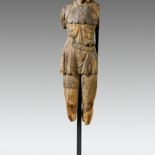 17th century carved figure