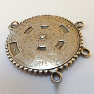 Late 17th/early 18th century silver Dutch perpetual calender