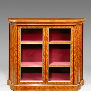 Satinwood side cabinet