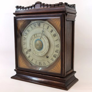 Rare Astronomical Clock, showing High Tide at London Bridge