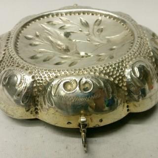 Antique Augsburg Silver Dish