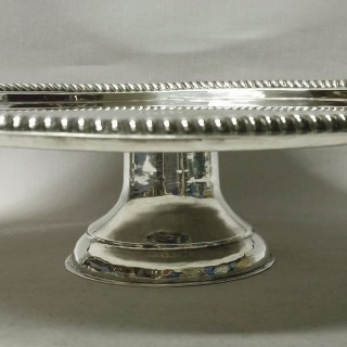 Antique Queen Anne Silver Tazza