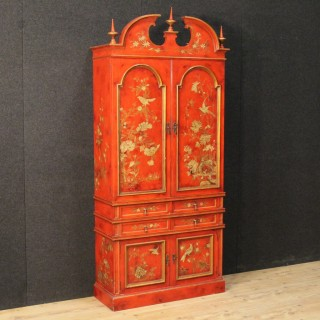 20th Century Spanish Lacquered And Gilt Sideboard