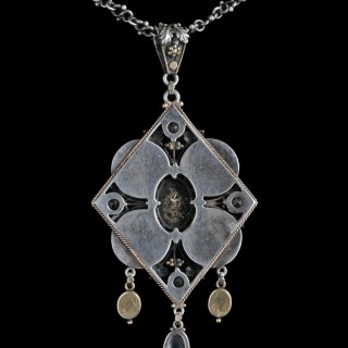 An Exquisite Jewelled Pendant