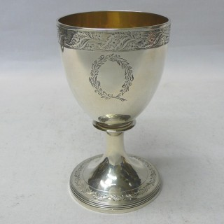 George III Silver Goblet