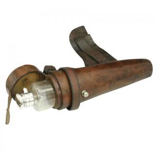 Vintage Conical Hunting Saddle Flask.