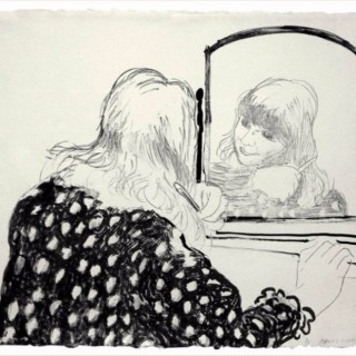 'Ann Combing Her Hair'  (T. 215; G. 830)