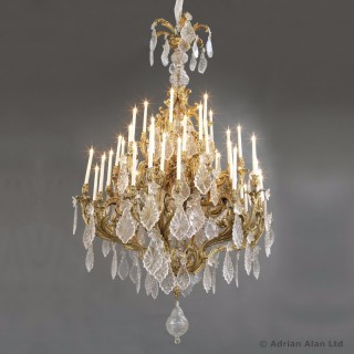Louis XV Style Forty-Eight Light Chandelier
