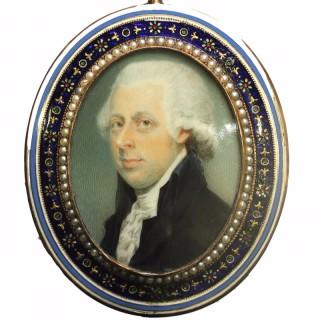 Fine portrait of an  Gentleman, possibly William Pitt