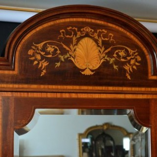Magnificent Waring and Gillow Inlaid Wardrobe